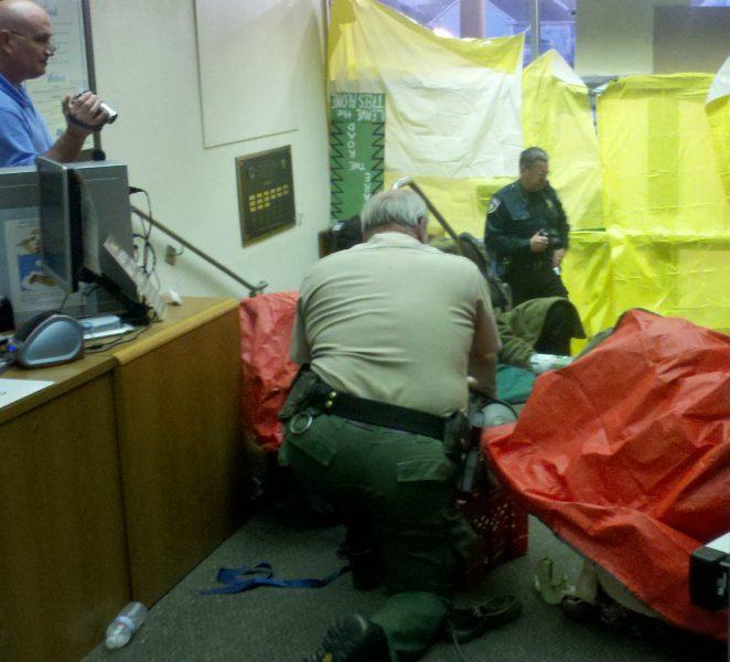 Protest Photos From Inside CalTrans – Redheaded Blackbelt